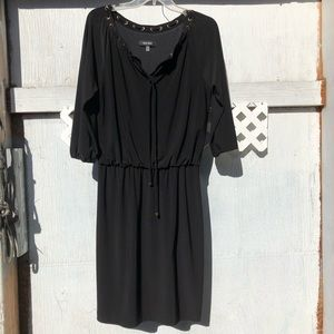 Nine West O'Rings lace up dress 4